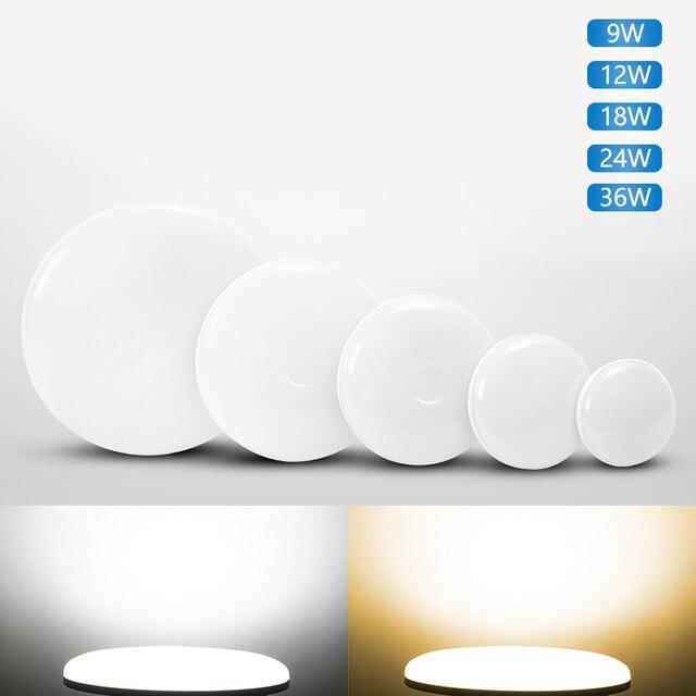 Ultra cienkie lampy sufitowe LED oprawa oświetleniowa