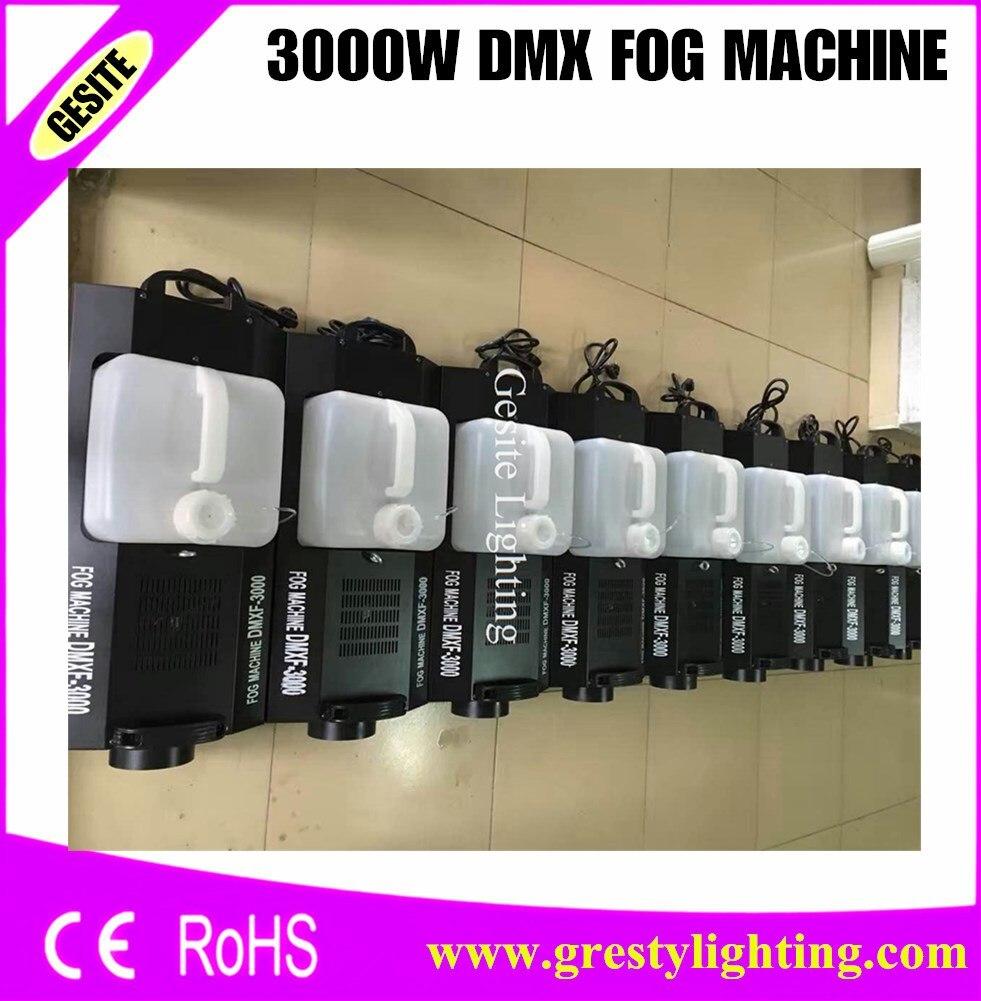 Free Shipping 3000w Low Fog Machine Fogger Smoke Effect Fog Generator