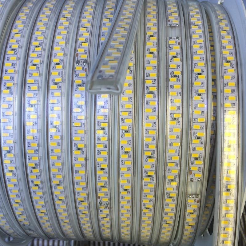 RAZEND 220V Led strip 5730 5630 180leds/m Waterproof Flexible Tape Light 20m 50m 100m Wholesale led strip light smd5630 5730 waterproof
