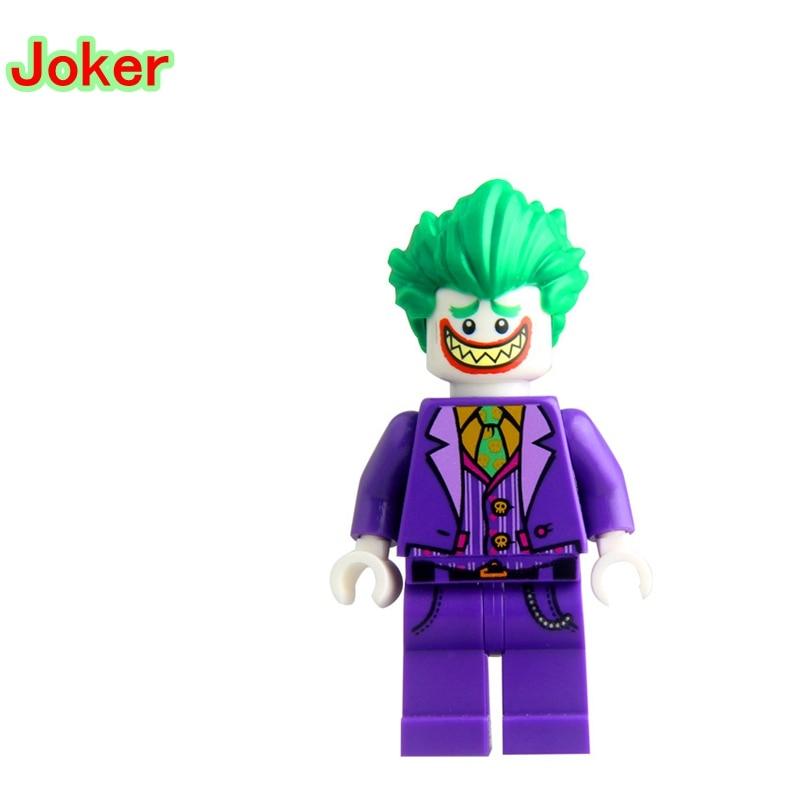 Brillant Joker Bricolage Blocs Simple Legoing Dc Super Héros Modèles & Construction Jouets Ensembles Jouets Briques Pour Enfants Pg100 Super-héros