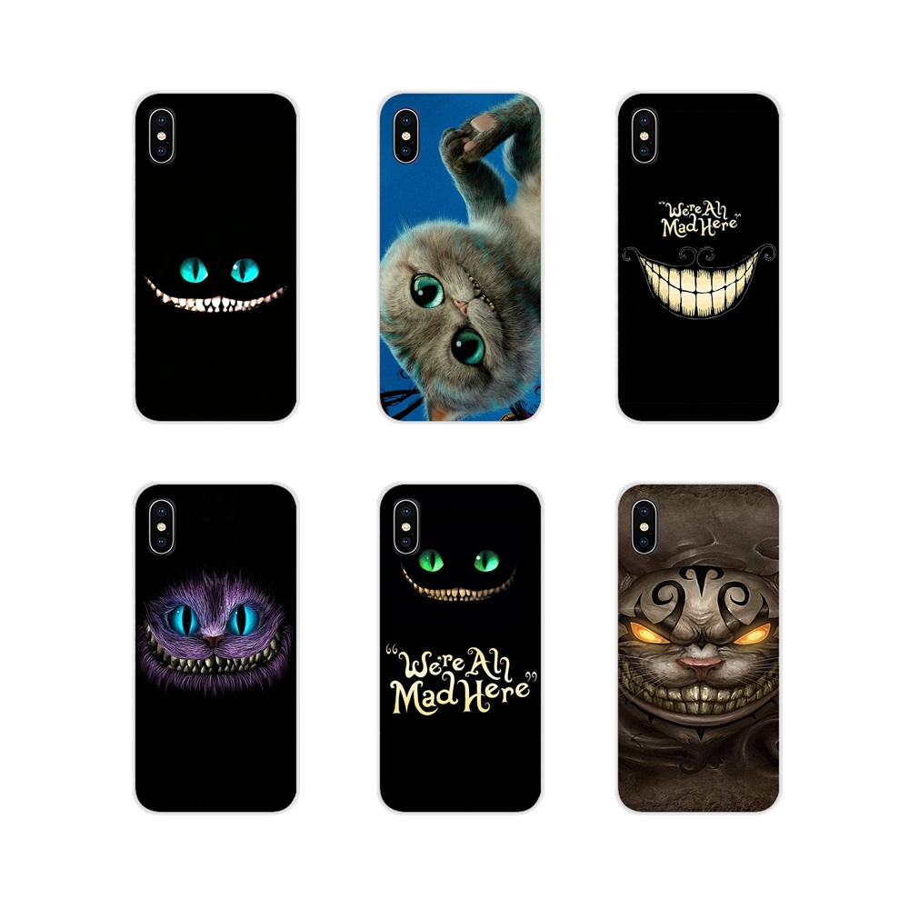 Cheshire Cat For Huawei Mate Honor 4C 5C 5X 6X 7 7A 7C 8 9 10 8C 8X 20 Lite Pro Accessories Phone Shell Covers thumbnail
