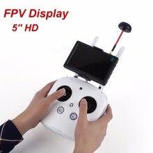 RC FPV  800×480 5 inch HD Snowflake Display 5.8G Transmission Hawk-Eye Little Pilot For DJI Phantom 2 1 Quadcopter