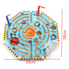 2 in 1 Wood Magnetic Maze Game Magnetic Pen Labyrinth Board Chess Intelligence Games Children Learning Education Toys