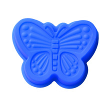DIY handmade soap mold moon cake big size butterfly shape silicone