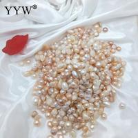 2017 Natural Freshwater Pearl Beads No Hole Cultured Freshwater Pearl Beads 100 Natural Pearl Wholesale Price