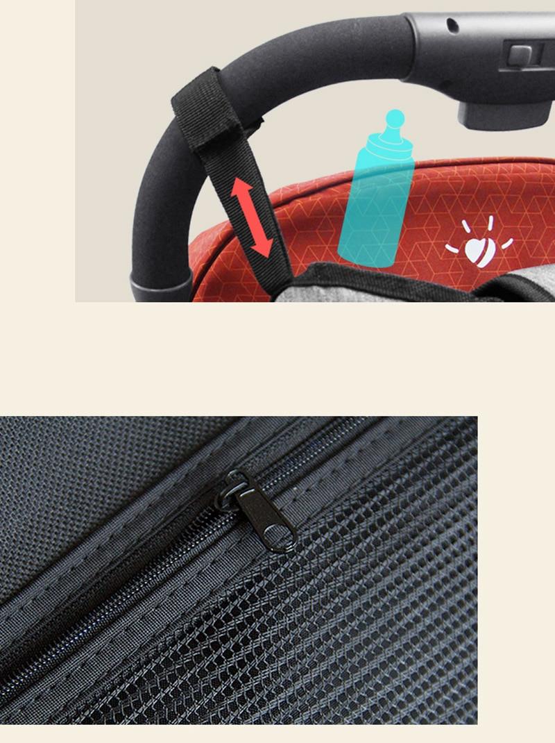 HTB1ulREel1D3KVjSZFyq6zuFpXa3 Baby Stroller Organizer Nappy Bag Mummy Waterproof Hanging Carriage Bottle Bag Handbag Pram Buggy Cart Organizer Diaper Bag