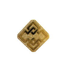 Manufacturer Promotional Golden Badge Custom Metal k200360