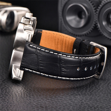 3in1 Unique Luxury Leather Men's Watch