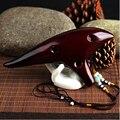 Nova lenda de 12 buracos zelda ocarina do tempo alto c fumegante ocarina cerâmica flauta amigo presente