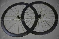 High Quality 700C Carbon Wheels 50mm 20 24 Holes Clincher Tubular Carbon Bike Wheels With Novatec