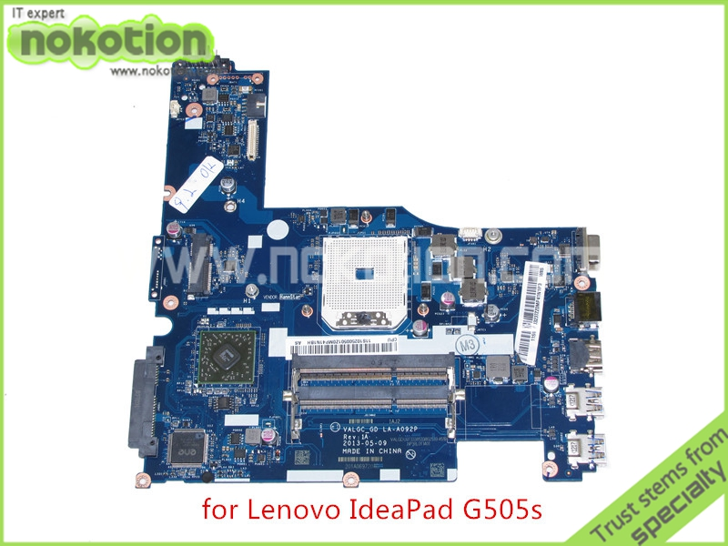 VALGC GD LA-A092P REV 1A for lenovo ideapad G505S laptop motherboard DDR3 new laptop base bottom case d cover for dell for inspiron 14r n4120 bottom base lower case without 49p21 049p21 3cr06bcwi10