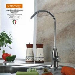 فيبورغ 304 الفولاذ المقاوم للصدأ الرصاص خالية المطبخ فلتر لمياه الشرب صنبور الترشيح نظام تنقية الحنفية ل تصفية المياه