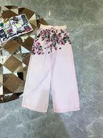 Модные женские брюки 2019 взлетно посадочной полосы роскошь известный бренд Европейский дизайн вечерние Стиль Женская Костюмы WD04749