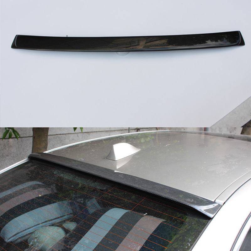 F10 M5 AC Styling Carbon Fiber Car Rear Roof lip spoiler wing for BMW F10 M5