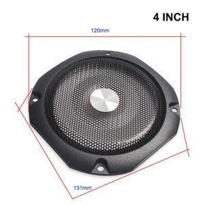 Image 5 - Housse de Protection pour haut parleur 4 pouces 8 pouces pour haut parleur, Grille de Tweeter, haut parleur en maille de fer, anneau décoratif