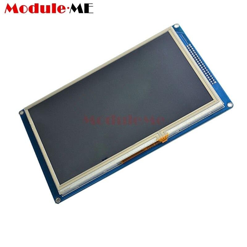 Большой 7 дюйма TFT ЖК-дисплей Экран 800x480 SSD1963 Touch ШИМ AVR пк модуль контроллера для Arduino Max 3,6 В высокое качество красочные изображения