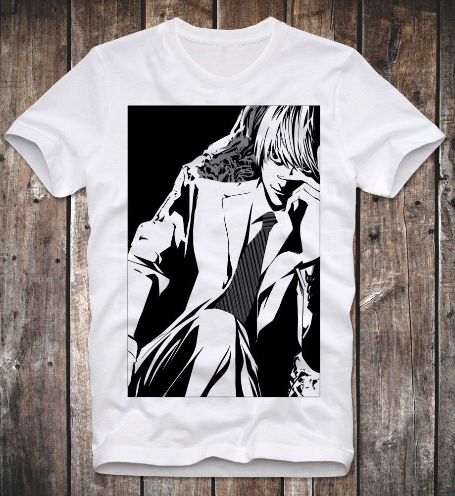 Us 13 04 13 Off T Shirt Death Note Light Yagami Anime Manga Cult Series Serie Kult Japan Kira In T Shirts From Men S Clothing On Aliexpress