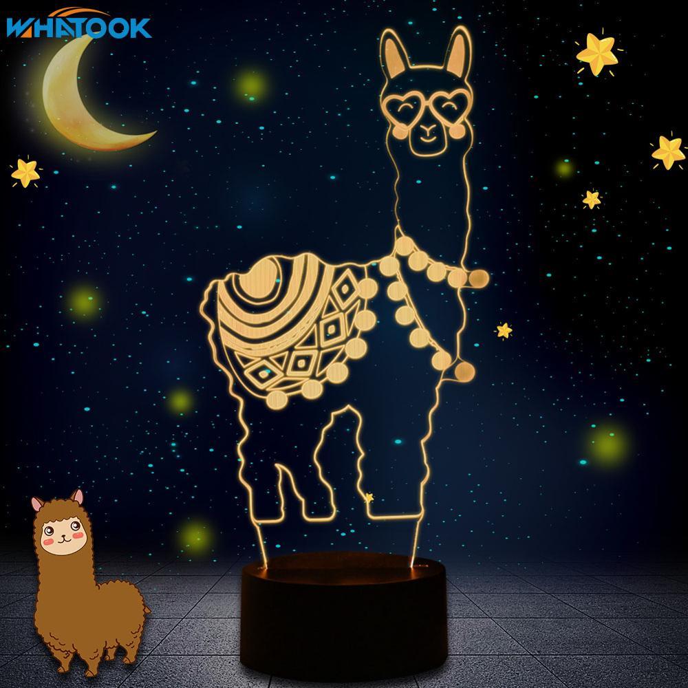 Alpaca  3D LED Night Light