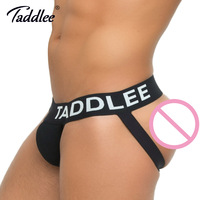 Taddlee Brand Sexy Men Underwear Jock Straps Cotton G Strings Thong Gay Penis Low Rise Jockstraps