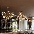 Decoração home moderna sala de jantar criativo lustre sala restaurante firefly firefly luzes suspensão free grátis