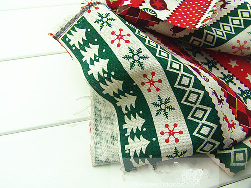 1 meter of printed fabric for sewing linen/cotton DIY patchwork handmade tecido odds and ends