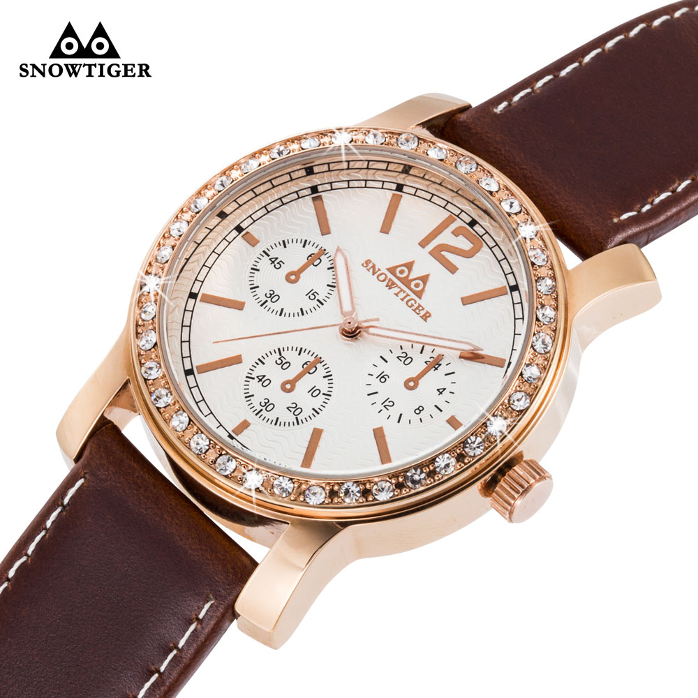 Rose Gold Watches Men Luxury Top Brand Fashion Men's Big Dial Designer Quartz Watch Male Wristwatch relogio masculino relojes brand oulm 9316b japan movt big face watches men triple time rose gold luxury analog digital casual watch relogio male original