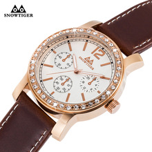 Rose Gold Watches Men Luxury Top Brand Fashion Men s Big Dial Designer Quartz Watch Male