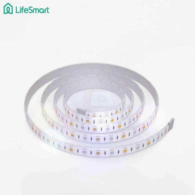 Lifesmart tira llevada 5050,16 millones de colores rgb regulable luz de casa inteligente de control inalámbrico, DC12V Iluminación 433MH Customerized