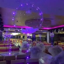 50Pcs 18 inch Luminous Led Balloon Colorful LED Light Party Wedding Balloons Birthday Lights Decoration