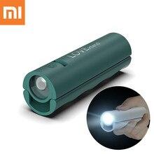 Original Xiaomi life 3000mAh Power Bank Mobile Power Charging Portable Rechargeable Flashlight Outdoor Mini Night Bright