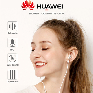 Image 3 - Huawei Earphone am116 Headset Mic 3.5mm for HUAWEI P7 P8 P9 Lite P10 Plus Honor 5X 6X Mate 7 8 9 smartphone