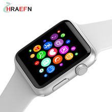 W52 Bluetooth smart watch Heart Rate monitor smartwatch Anti-Lost Wireless Charging For ios apple iphone android huawei xiaomi