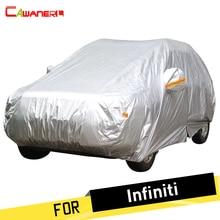 Cawanerl Cubierta Del Coche SUV Auto Anti UV Dom Lluvia Nieve Resistente Al Polvo Cubierta de La prueba o Infiniti Q50 Q60 Q60S Q70L QX50 QX60 QX70 Q50L