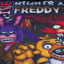Five Nights At Freddys Long Sleeve T Shirt Kids Boys Girls Autumn Hooded T-shirt Fnaf Clothing Children's Outerwear Baby Tshirt