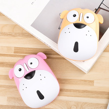Pet dog cute cartoon puppy optical mouse charging 2.4 G Bluetooth for PC Laptop