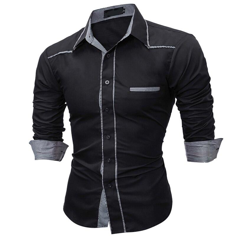 2018 새로운 도착 남성 옷 캐주얼 드레스 셔츠 긴 소매 셔츠 남성 슬림 브랜드 남성 셔츠 옷 옴므 Camisa Masculina