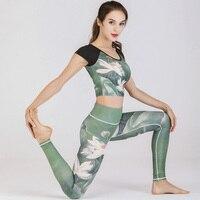 Workout Clothes For Women Sport Suit Gym Yoga Sets 2 Pieces Women Sportwear Yoga Set Fitness Sportwear Workout Set