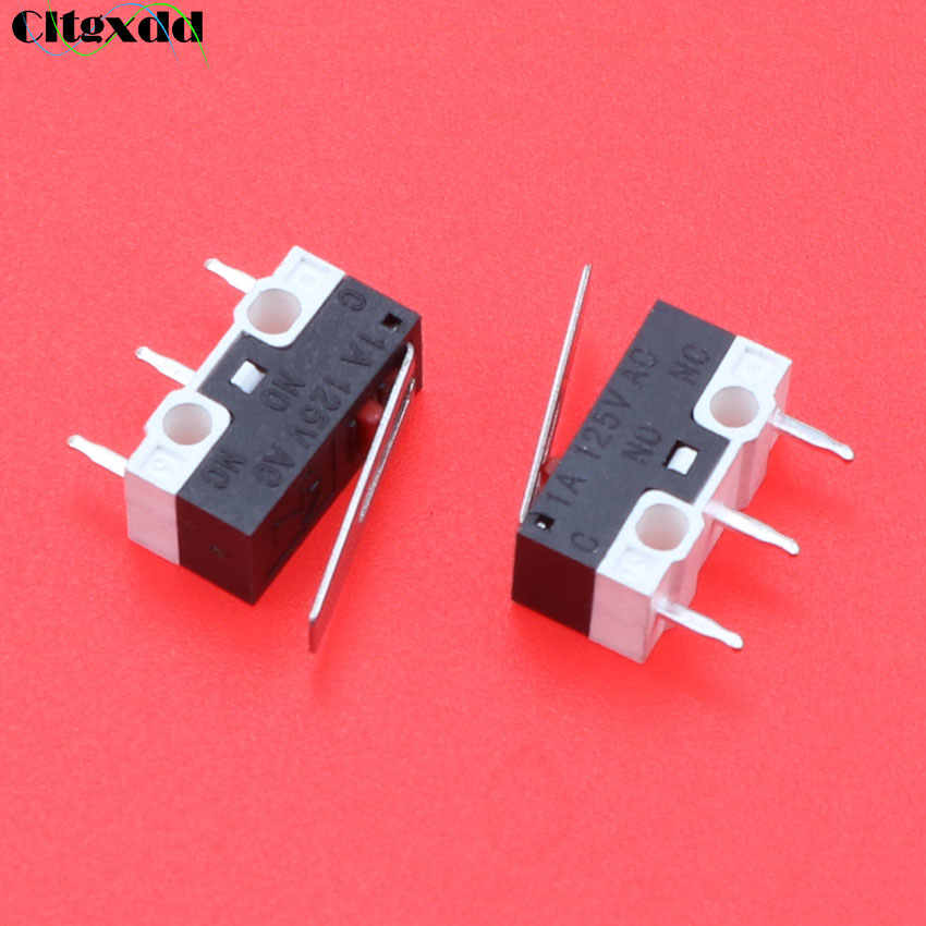 Cltgxdd 1 Pcs Limit Switch Push Button Switch 1A 125 V AC Mouse Switch 3 Pin Micro Switch