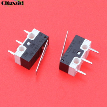 Cltgxdd 1Pcs Limit Switch Push Button Switch 1A 125V AC Mouse Switch 3Pins Micro Switch image