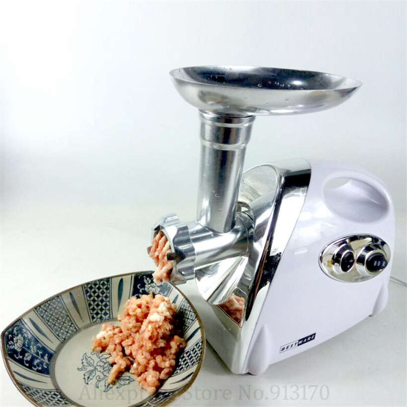 800W Multi-functional Meat Grinder Colorful Sausage Stuffer Maker 3 Blades Mincer Red/White/Black Color Meat Fish Cutter Machine800W Multi-functional Meat Grinder Colorful Sausage Stuffer Maker 3 Blades Mincer Red/White/Black Color Meat Fish Cutter Machine