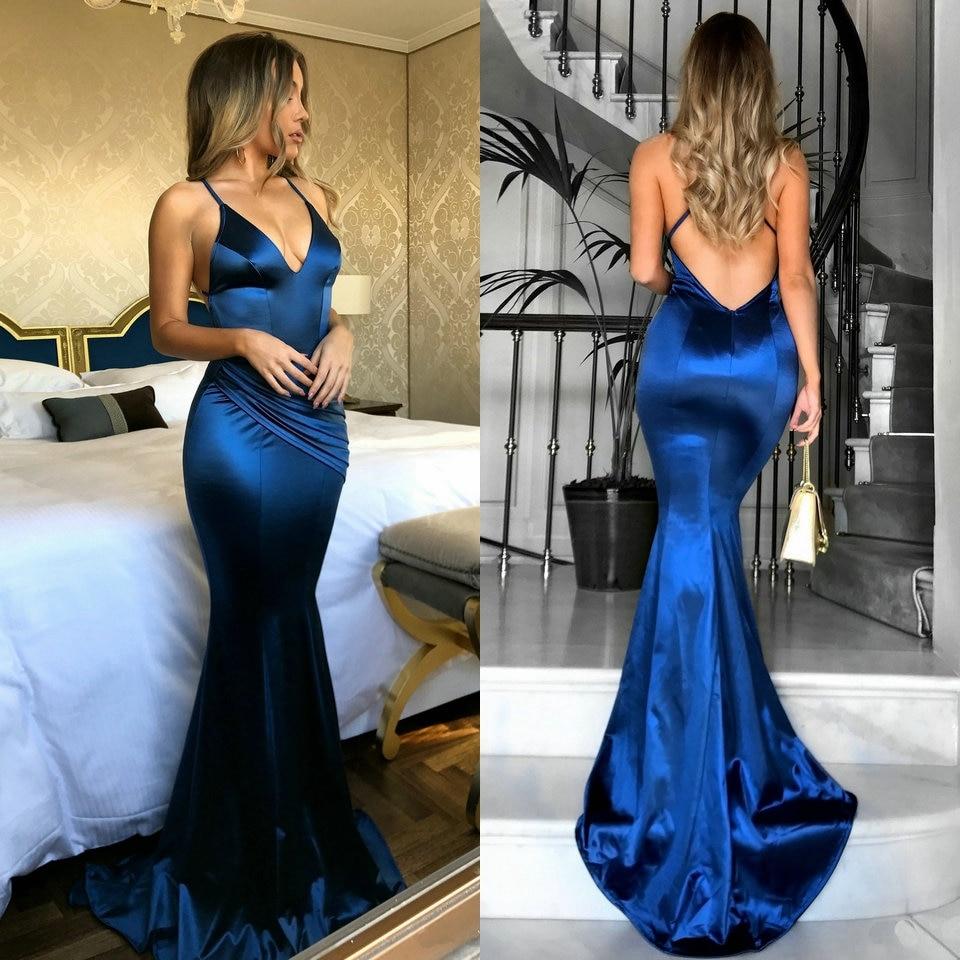 Women Mermaid Long Evening Dresses