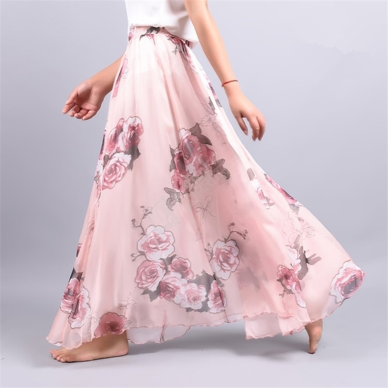 Compare Prices on Chiffon Long Skirt Bohemian- Online Shopping/Buy ...