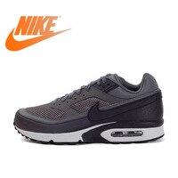 Оригинальные Аутентичные Официальный Nike Air Max BW 3 м темно серый для мужчин дышащие бег обувь спортивная, кроссовки Открытый прочный 881981