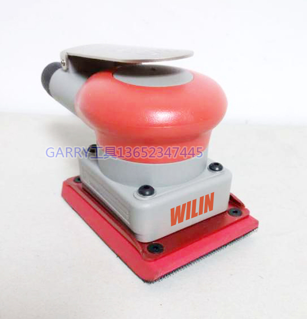 Pnuematic sanders wilin air tools palm orbital daul sander polisher square pad  75*100mm 3*4inch WL 20331 flat surface sanders 5 inch 125mm pneumatic sanders pneumatic polishing machine air eccentric orbital sanders cars polishers air car tools
