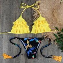 Brazilian Bikini Set Sexy Push Up Swimwear Women's Swimsuit Bathing Suits Swimming Suit For Women Maillot De Bain E045