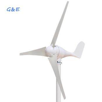 Wiatrak zasilający 300w 400w mały generator wiatrowy turbiny wiatrowej z wodoodpornym kontrolerem tanie i dobre opinie GE-300S GE-400S Generator energii wiatru Bez Podstawy Montażowej 300W 400W 12v 24v 2 5m s 11m s 1 3m 1 2m Nylon fiber Three phase permanent magnet AC synchronous generator