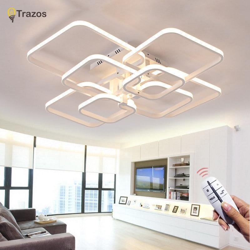 Trazos 2019 Rechteck Acryl Aluminium moderne LED Deckenleuchten für - Innenbeleuchtung - Foto 1