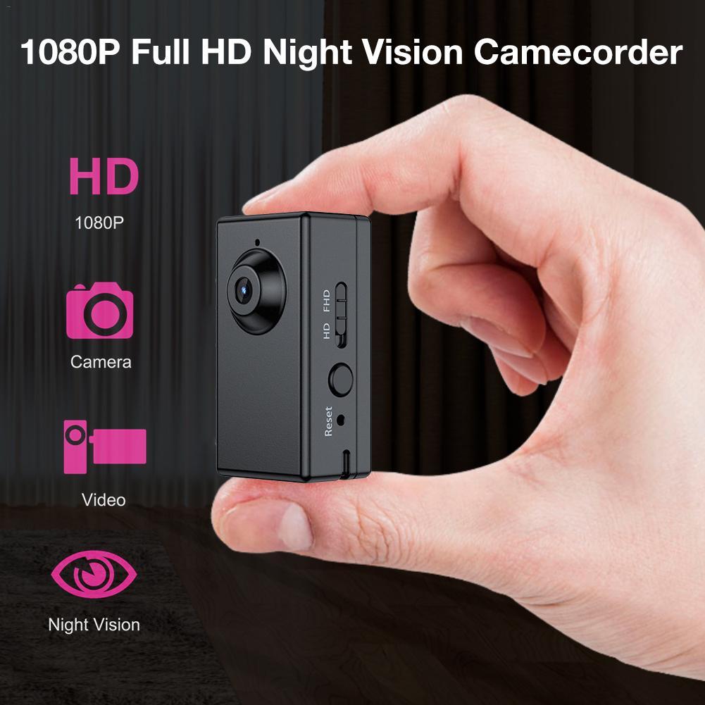 Caméra vidéo 1080 P Full HD Camecorder Vision nocturne capteur de mouvement enregistreur Audio numérique voiture Sport Action caméra secrète