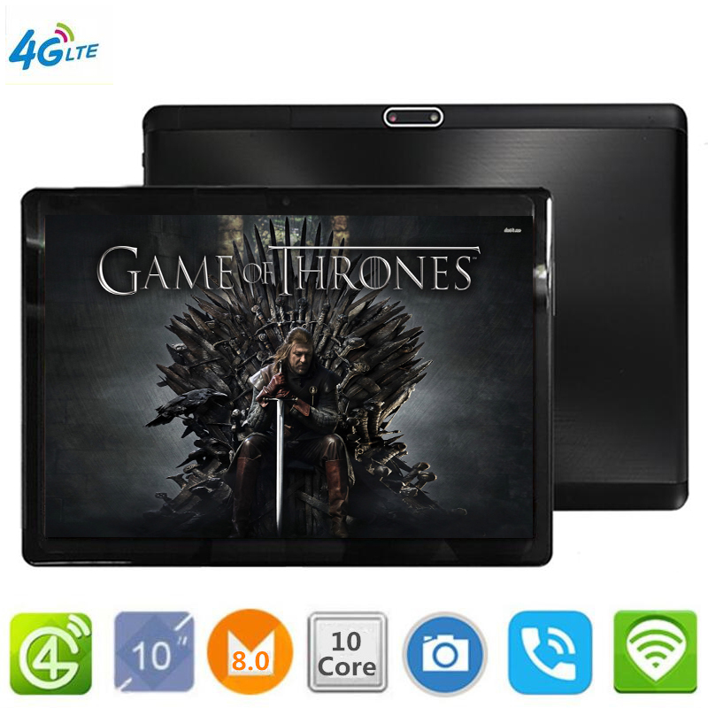 2019 S119 Strongest Usb Flash 128GB Pendrive Tablets 10' WIFI 10 Core Dual Camera 8MP Android 8.0 Tablet PC 4G LTE GPS Bluetooth