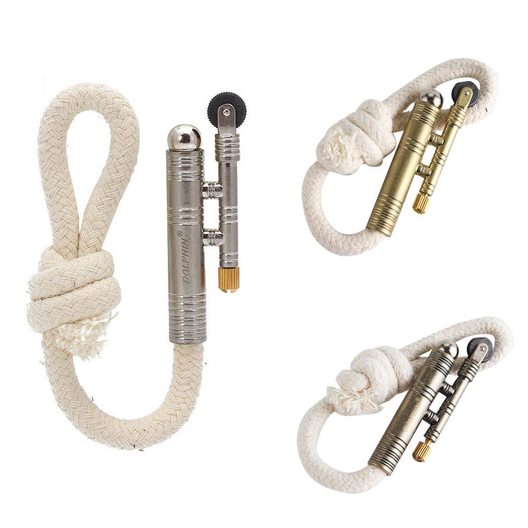 Metal Rope Velvet lighter Outdoor Camping 141mm/5.6inch Fire Starter Gold  Silver  Bronze|Outdoor Tools| |  - title=